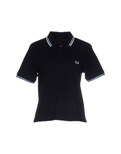 Fred Perry Polo Shirt In Dark Blue