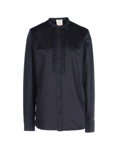 INES DE LA FRESSANGE Solid Color Shirts & Blouses in Dark Blue