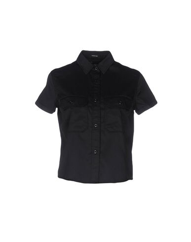 NLST Solid Color Shirts & Blouses in Black