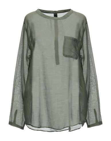 TRUE TRADITION Blouse in Military Green