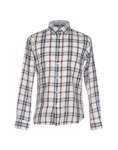 RANSOM Checked Shirt in White
