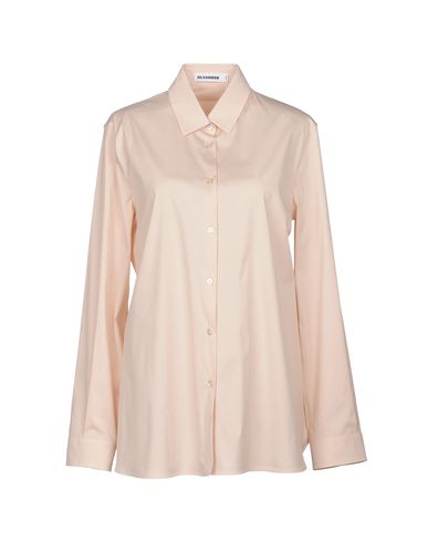 JIL SANDER - 纯色衬衫及女衬衣