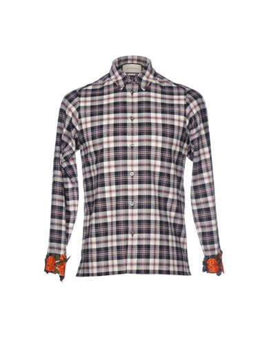 GUCCI - 格纹衬衫