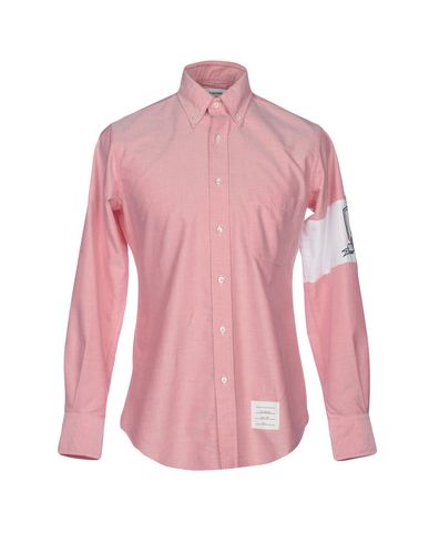 THOM BROWNE - 纯色衬衫