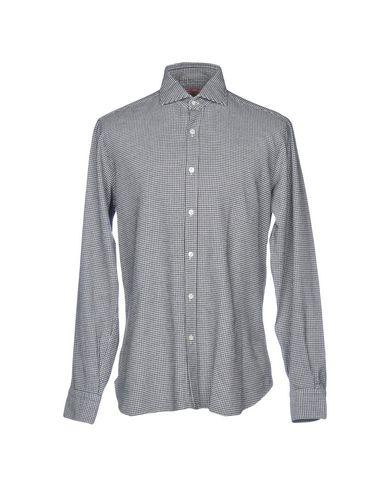 BARBA NAPOLI Patterned Shirt in Black