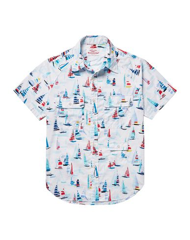 BATTENWEAR Patterned Shirt in White