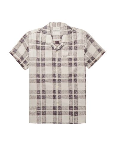 OUTERKNOWN Checked Shirt in Light Grey