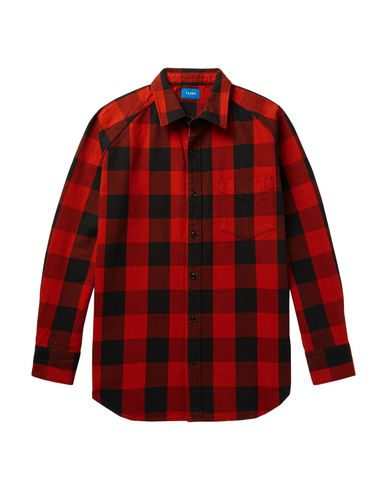BEAMS Checked Shirt in Red