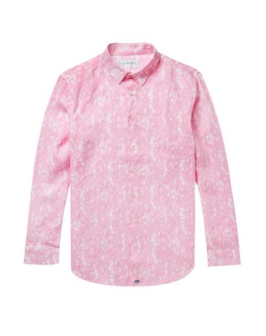 PINK HOUSE MUSTIQUE Linen Shirt in Pink