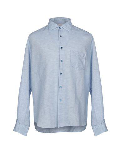 BORSA Checked Shirt in Sky Blue