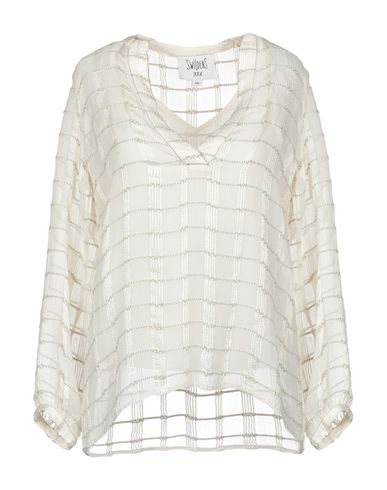 SWILDENS Blouse in Ivory