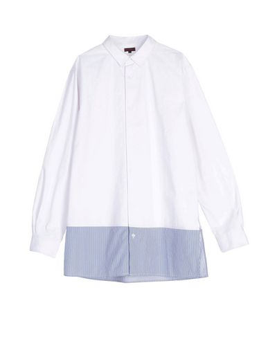 CLOT Striped Shirt in White