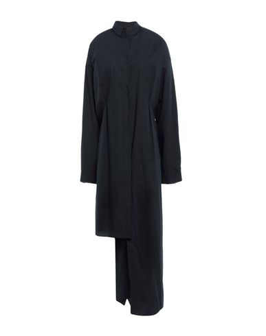 Solid Color Shirts & Blouses in Black