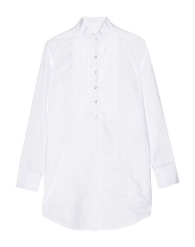 TITLE A Solid Color Shirts & Blouses in White