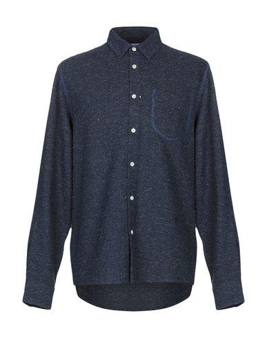 SOULLAND Patterned Shirt in Dark Blue