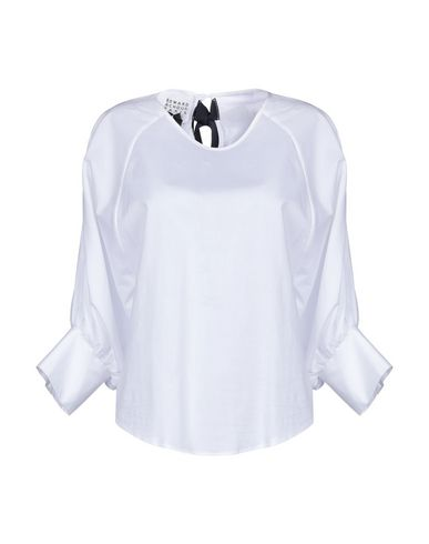 EDWARD ACHOUR Blouse in White