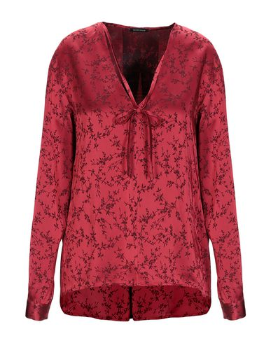 WALTER VOULAZ Blouse in Red