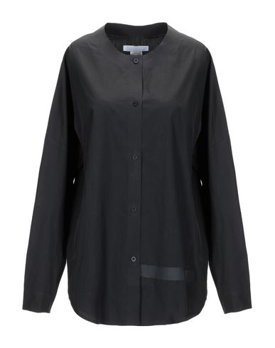 BARBARA ALAN Solid Color Shirts & Blouses in Black