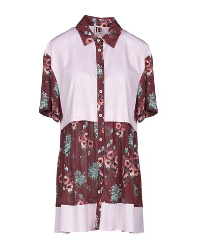 Floral Shirts & Blouses in Maroon