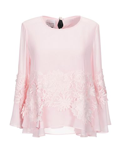EDWARD ACHOUR Blouse in Pink