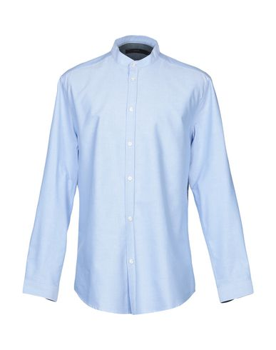 SUIT Solid Color Shirt in Sky Blue