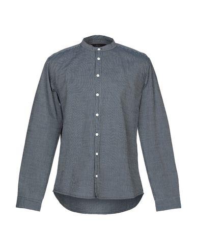 SUIT Striped Shirt in Dark Blue
