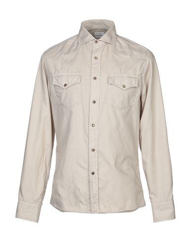 BRUNELLO CUCINELLI - 纯色衬衫