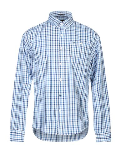 WEEKEND OFFENDER Checked Shirt in Blue