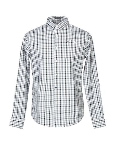 WEEKEND OFFENDER Checked Shirt in Grey