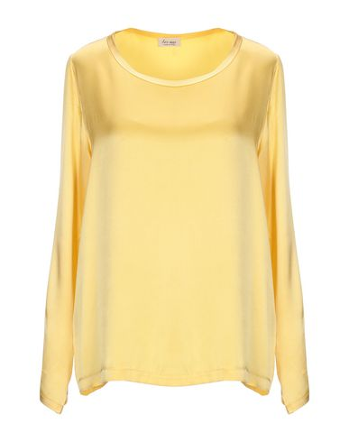 HER SHIRT Blouse in Yellow