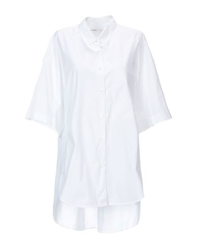 LAREIDA Solid Color Shirts & Blouses in White