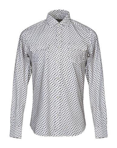 BORSA Patterned Shirt in White