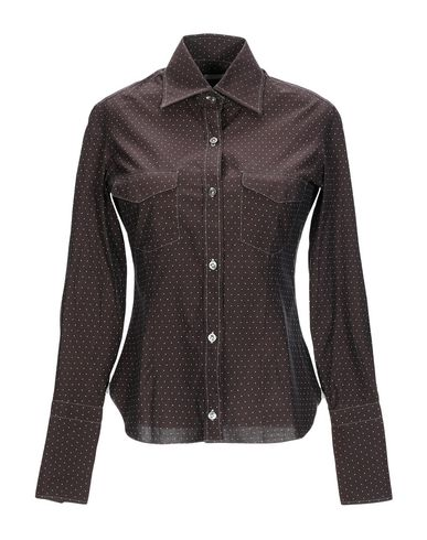 BARBA NAPOLI Patterned Shirts & Blouses in Dark Brown