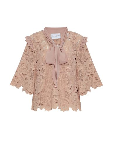 PERSEVERANCE Blouse in Pale Pink
