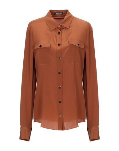 BALMAIN - 真丝衬衫及女衬衣