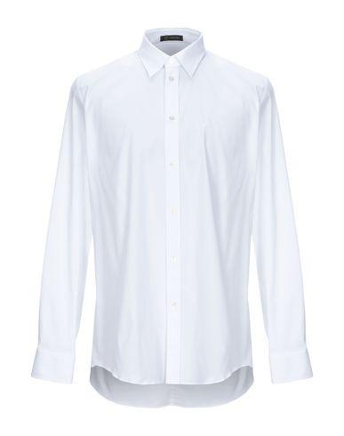 Versace Cotton Dress Shirt In White