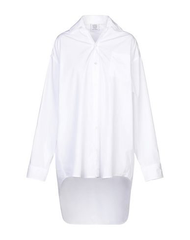 Vetements T-shirts SOLID COLOR SHIRTS & BLOUSES