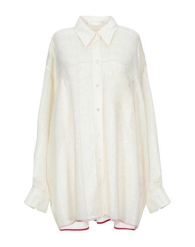 Victoria Beckham T-shirts SOLID COLOR SHIRTS & BLOUSES