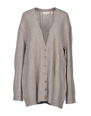 INHABIT Cardigan in Grey