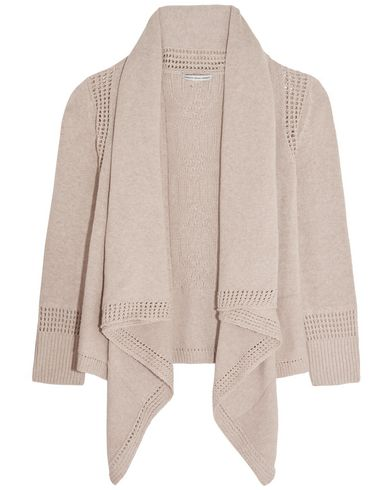 COTTON BY AUTUMN CASHMERE Cardigan in Grey