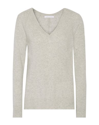 DUFFY Cashmere Blend in Grey