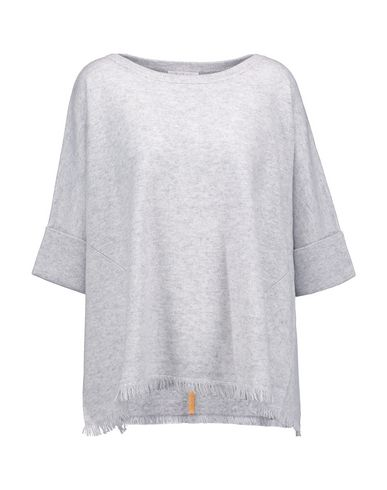 DUFFY Cashmere Blend in Light Grey