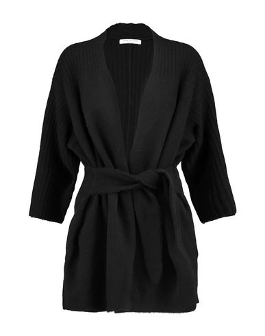 HALSTON Cardigan in Black