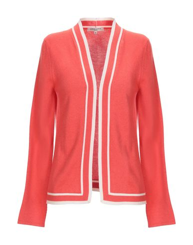 BARBARA LOHMANN Cardigan in Coral
