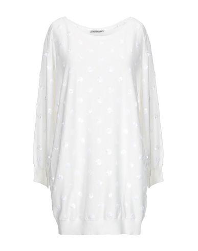 BEAYUKMUI Sweater in Ivory
