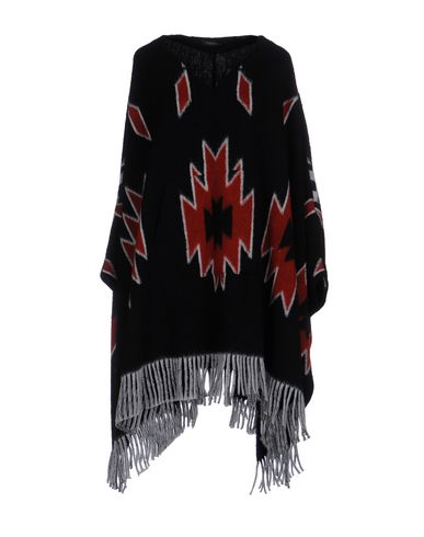 HAPPINESS Capes & Ponchos in Black