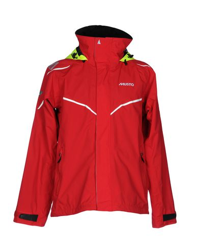 MUSTO Jacket in Red