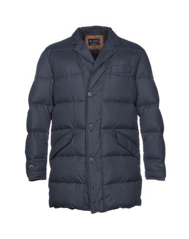 BREUER Down Jacket in Dark Blue