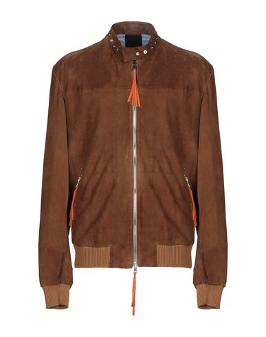 GIOCASTA Jackets in Brown