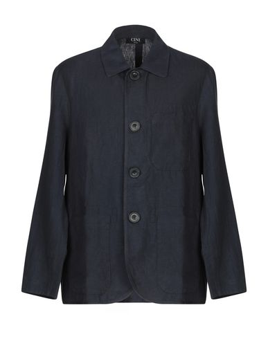 CINI Full-Length Jacket in Dark Blue